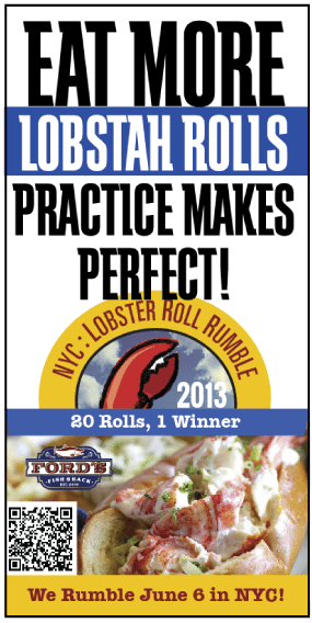 ad for lobster roll
