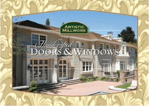 Millwork/web — woodcraft company designs and manufacturers custom windows and doors