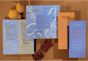 Flavors/brochure — gourmet catering for box lunch and catering food